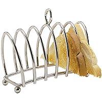 Kitchen Craft KCTOAST Toastständer verchromt für 6 Scheiben,Silber