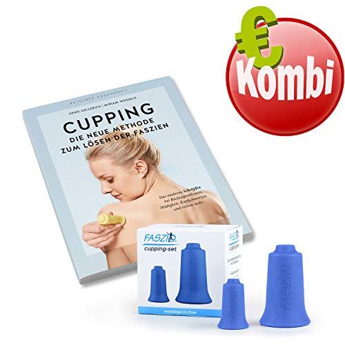 BellaBambi® Cupping - Bundle, FASZIO Cupping-Set, inkl. Buch, Faszien-Set, Schröpf-Set