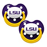 LSU Tigers 2-Tone Infant Pacifier 2-pack...