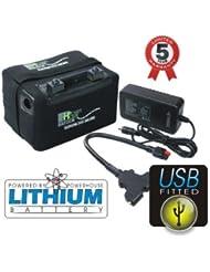 Centrale de golf 12V 36trous + GOL chariot Lifepo4batterie au lithium