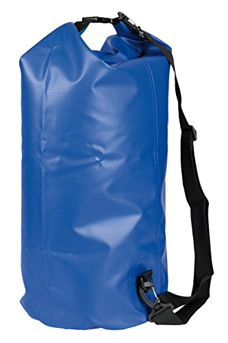 Idena 24001 Outdoor Wasserfest Rucksack Seesack, 30 Liter, blau