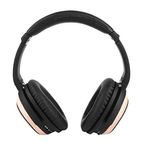 BH519 Over-Ear Type ANC Multifunktionale aktive Rauschunterdrückung Bluetooth 4.0 Wireless Headset High Fidelity-Stereo-Kopfhörer Rose Gold
