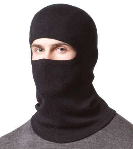 Gajraj Men's Bike Riding Cotton Face Mask (Black)