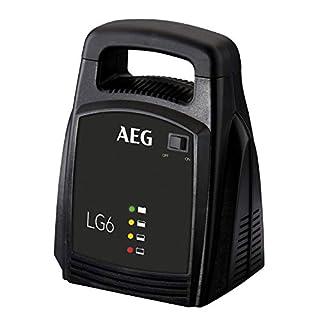 AEG Automotive 10269 Batterieladegerät LG 6 (12 Volt, 6 Ampere, LED Anzeige)