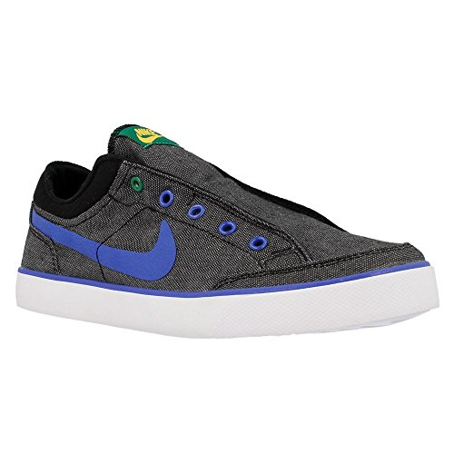 Nike - Capri Slip Txt GS - 644556002 - Couleur: Bleu-Gris-Noir - Pointure: 38.5