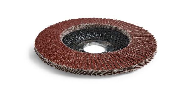 Type 29 7 Diameter 60+ Grit Cloth Brown Pack of 5 3M Cubitron II Flap Disc 967A Ceramic Grain