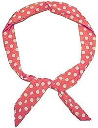 1 con banda de muchos Estilos! Puntos de bucle Rockabilly y rayas blancas azul marino pudra rosa, modelo: salmón / blanco