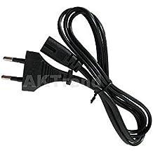 PS4/PS3/PS2 Original AKTrend® Netzkabel / Stromkabel für die Sony Playstation 2 / 3 / 4 (Euro-Stecker)