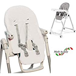 BRUCHINO ITALY® Housse pour chaise haute Peg Perego 100% coton Made in Italy