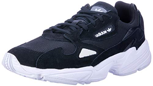 low priced d7383 b8443 Adidas Falcon W, Zapatillas de Gimnasia para Mujer, (Black Cblack Ftwwht)
