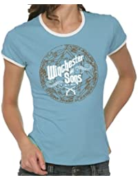 Touchlines T-shirt Winchester and Sons pour femme