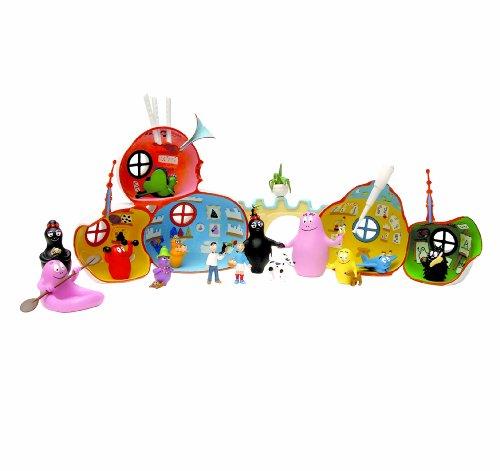 Plastoy 60817 - Barbapapas Haus inklusive 2 Figuren