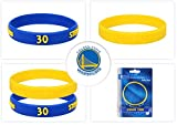 NBA Sports Silicon Bracelet 2 Pieces Yellow and Blue | Steph Curry or Kevin Durant (Steph Curry)