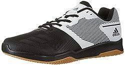 adidas Herren Gym Warrior 2.0 Turnschuhe Elfenbein (FTWR Whitecore Blackgum) 44 EU