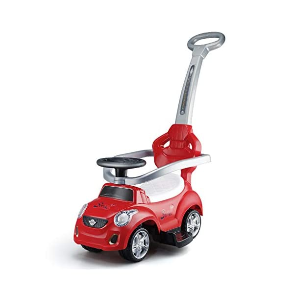 Twist car Swing car Children's 1-3 Years Old Baby Yo Car Scooter With Music Early Education Puzzle Hand Push Walker Four-wheeler FANJIANI (color : Red) Twist car ▶Tip: The delivery time of the product is 8-15 days, If you have any questions, please feel free to contact us ▶Environmental PP material, non-toxic, no odor, corrosion resistance, high temperature resistance, anti-drop, shockproof, baby play more assured ▶By grasping, it can promote the development of the cerebellum, stimulate the baby's left and right brain, and constantly adjust the steering wheel, exercise the baby's sense of direction and hand-eye coordination, effectively cultivate the baby's potential 1
