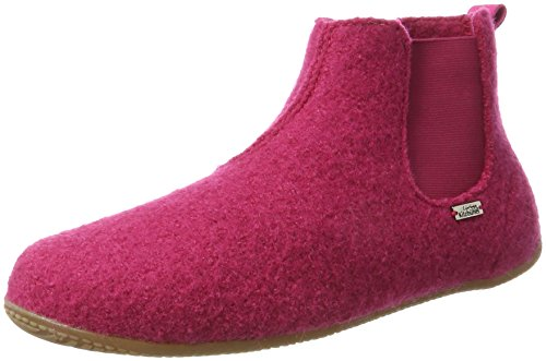Living Kitzbühel Unisex Adulti Stivali Chelsea Plain High Slippers Pink (magenta 362)