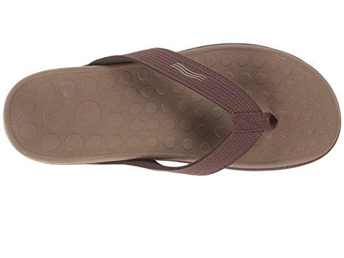 VIONIC Paire de semelles Orthaheel Technologie Wave orthatic Unisexe Sandale Chocolate,