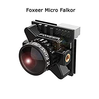 Foxeer Micro Falkor 1.8mm 1200TVL Camera 16:9/4:3 PAL/NTSC Switchable GWDR Screen OSD DC 5V-40V for FPV Racing Drone