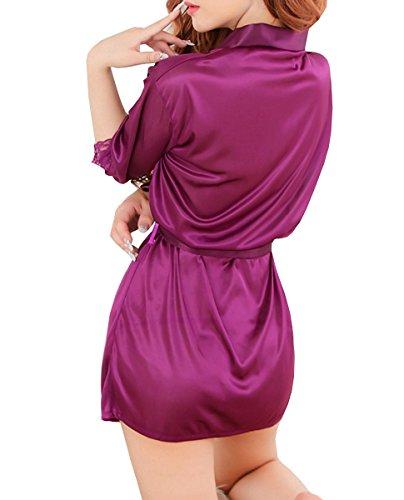 Dissa® Charming Lady Meryl Lingerie, vêtements de nuit, bleu Violet
