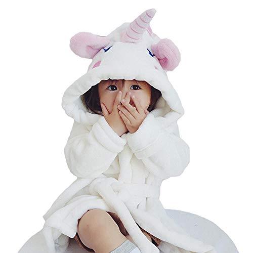 Amphia - (18M-4Y Nachthemd für Kinder - Bademantel für Neugeborene, Baby-Handtuch-Eimer - Nachthemd - Baby-Jungen-Mädchen scherzt Bademantel-Karikatur-Tier-mit Kapuze Tuch-Pyjamas-Kleidung