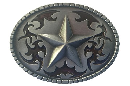 Bai You Mei Western Cowboy Lone Star cinturón hebillas