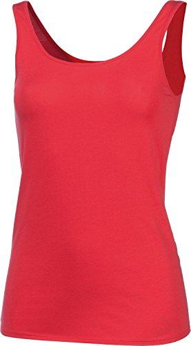 Schiesser Unterhemd 2er-Pack Single-Jersey Rot/Weiß
