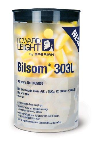 Howard-Leight-Bilsom-303L-Earplugs-100-Pair-Hand-Dispenser