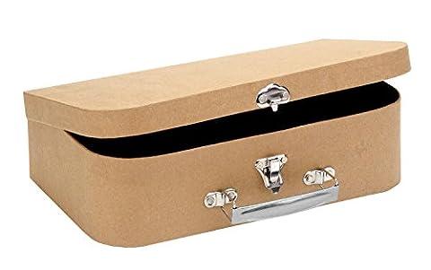 GLOREX 62027030Valise en carton, 30x 17,5x 8cm, FSC Mix