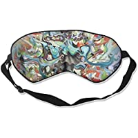 Watercolor Paint Sleep Eyes Masks - Comfortable Sleeping Mask Eye Cover For Travelling Night Noon Nap Mediation... preisvergleich bei billige-tabletten.eu