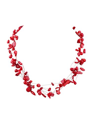 superbe-treasurebay-multi-fils-rouge-corail-collier-avec-fermoir-longueur-environ-48-cm