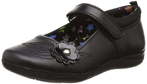 Hush Puppies Mara, Girls' Mary Jane, Black (Black), 10 Child UK (28 EU)
