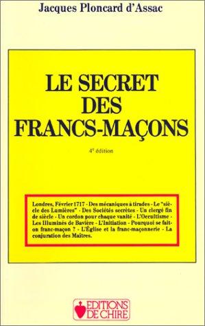 Le secret des Francs-maçons par Jacques Ploncard d'Assac