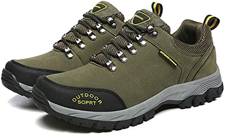 MERRYHE Deportes De Los Hombres Zapatos De Senderismo Escalada Camping Zapato De Montaña Zapatillas De Trekking