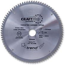 Trend Craft–Hoja de sierra ALUMINIO Y PLÁSTICO 136x 30dientes x 10ultrafina–CSB/ap13630t