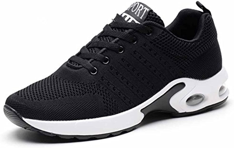 GLSHI Hombres Ligero Tejer Corriendo Zapatos 2018 Primavera Verano Nuevo Deportes Zapatos Amantes Red Casual Viajar  -