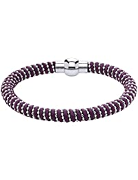 Jodie Rose púrpura de giro de la longitud de la pulsera de 19,8 cm