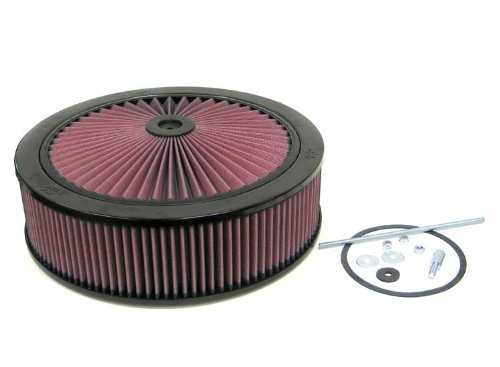 66–3210K & N X-Stream Top Assembly X-Stream Flow Control 4BL David Holley W/CHOKE 14x 4(Universal Air Filter) (Flow Assembly Control)
