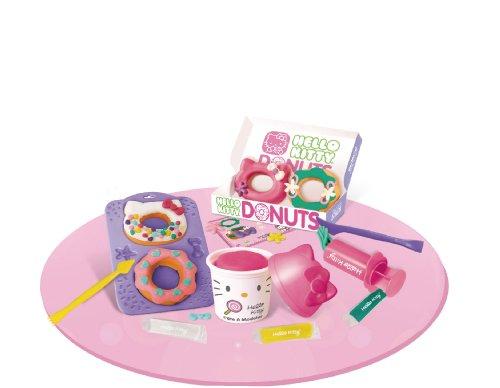 Hello Kitty - HKP 003 - Loisir Creatif - Mes Donut'S Hello Kitty en Pâte à Modeler