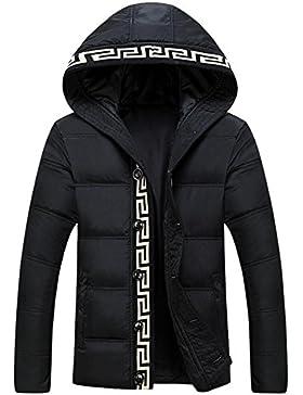 MHGAO Con capucha de invierno Tendencia De manera ocasional de la chaqueta acolchada chaqueta larga de Down ,...