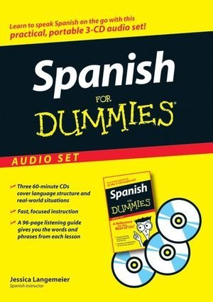 By Jessica Langemeier Spanish for Dummies Audio Set [With Spanish for Dummies Reference Book] (For Dummies (Lifestyles Audio)) (English, Spanish) Langemeier, Jessica ( Author ) May-01-2007 Compact Disc