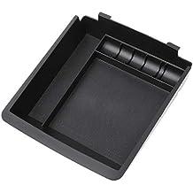 Xuniu Car Center Console Tray, apoyabrazos Caja de Almacenamiento para Hyundai Elantra Sedan 2011-