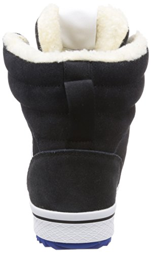 adidas Originals Honey Hill Damen Hohe Sneakers Schwarz (Black 1 / Running White Ftw / Collegiate Royal)