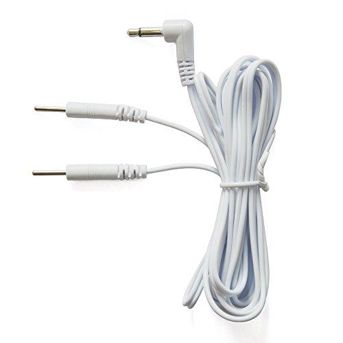 KONMED 10 Stück 10 Stück Kabel Kabel Stecker 3,5 mm Stecker 2 mm Pin Verbindung