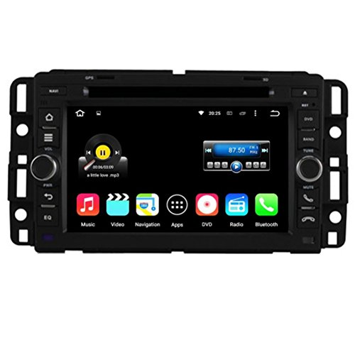 Top Navi 7inch 1024*600 Android 5.1.1 Auto GPS navigation for Chevrolet General GMC Yukon 2007-2012 GMC Tahoe 2007-2012 GMC Acadia 2007-2012 Chevrolet Tahoe 2007--2012 Chevy Tahoe 2007--2012 Chevrolet Suburban 2007-2012 Chevy Suburban 2007-2012 Buick Enclave 2007--2012 YUKON/SUBURBAN/ACADIA 2007-2012 2009 CHEVROLET EXPRESS VAN Car DVD Player Wifi Bluetooth Radio 1.6 GB CPU Rockchip RK3188 Cortex A9 DDR3 Capacitive Touch Screen 3G car stereo audio Google Play CarPlay 16G Quad Core
