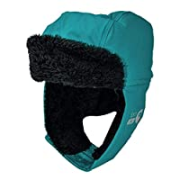 Spotty Otter Forest Leader Insulated PU Hat - Lagoon Solid - Large (4-14 Years)