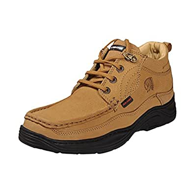 Red Chief Men 's Brown Suede Shoes (8 UK)