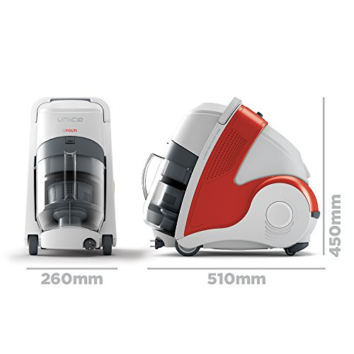 Polti Unico MCV50 Allergy Multifloor Vacuum with Steam Cleaner