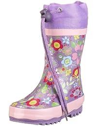 Playshoes 188574 - Botas de caucho para niña