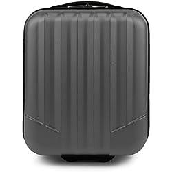 WITTCHEN Bagage à main, chariot, valise, petite   Coleur: Gris   Dimension: 32 x 25 x 42 cm   Capacité: 25 L   ABS - V25-10-232-00