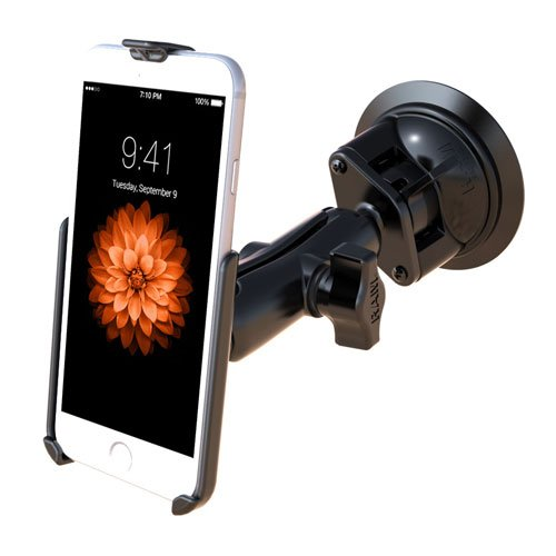 Ram Mounts UNPK Suction MNT for Apple iPhone 6, RAM-B-166-AP18U (iPhone 6) Ram Suction Mount